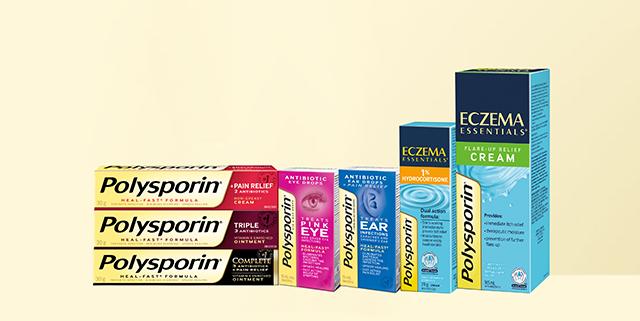 gamme de produits polysporin