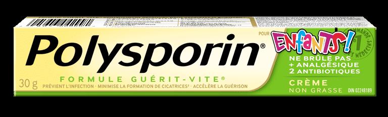 boîte de crème polysporin pour enfants