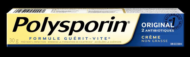 boîte de crème polysporin original