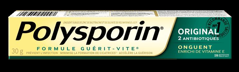 boîte d'onguent polysporin original